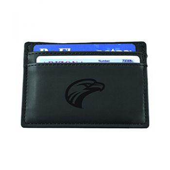 University of Louisiana at Monroe-European Money Clip Wallet-Black