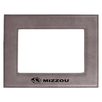 University of Missouri-Velour Picture Frame 4x6-Grey