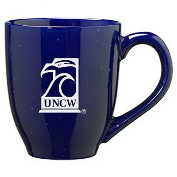 University of North Carolina Wilmington - 16-ounce Ceramic Coffee Mug - Blue