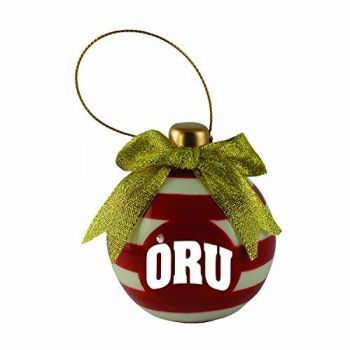 Oral Roberts University -Christmas Bulb Ornament