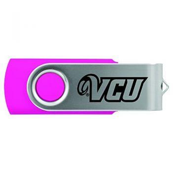 Virginia Commonwealth University-8GB 2.0 USB Flash Drive-Pink