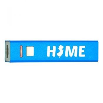 Quick Charge Portable Power Bank 2600 mAh - New Jersey Home Themed - New Jersey Home Themed