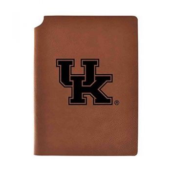 University of Kentucky Velour Journal with Pen Holder|Carbon Etched|Officially Licensed Collegiate Journal|