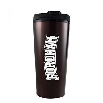 Fordham University-16 oz. Travel Mug Tumbler-Burgundy