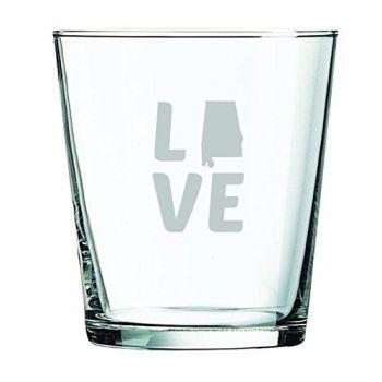 13 oz Cocktail Glass - Alabama Love - Alabama Love