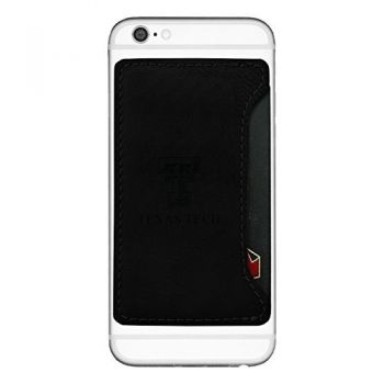 Texas Tech University-Cell Phone Card Holder-Black