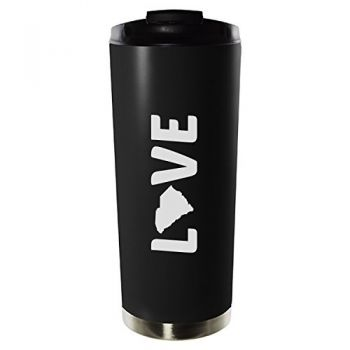 16 oz Vacuum Insulated Tumbler with Lid - South Carolina Love - South Carolina Love