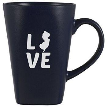 14 oz Square Ceramic Coffee Mug - New Jersey Love - New Jersey Love