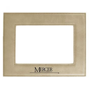Mercer University-Velour Picture Frame 4x6-Tan