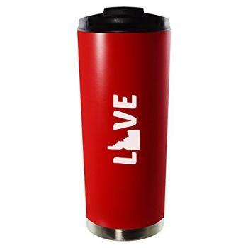 16 oz Vacuum Insulated Tumbler with Lid - Idaho Love - Idaho Love