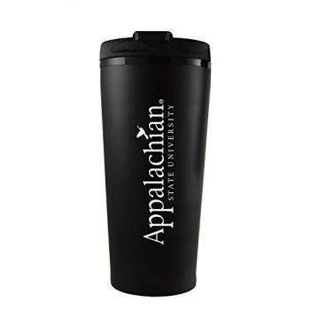 Appalachian State University -16 oz. Travel Mug Tumbler-Black