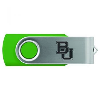 Baylor University -8GB 2.0 USB Flash Drive-Green