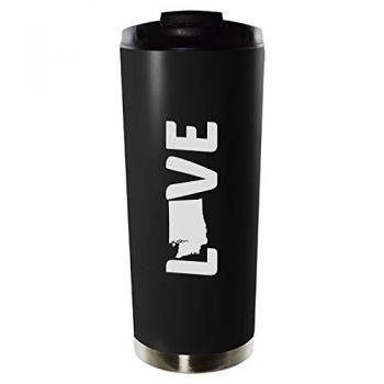 16 oz Vacuum Insulated Tumbler with Lid - Washington Love - Washington Love