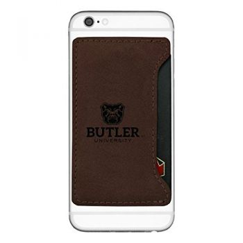 Butler University-Cell Phone Card Holder-Brown
