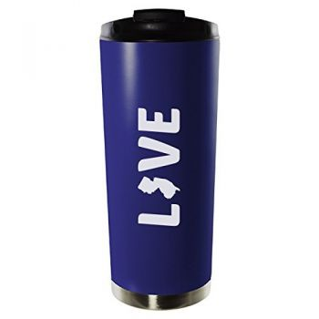 16 oz Vacuum Insulated Tumbler with Lid - New Jersey Love - New Jersey Love