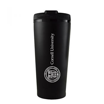 Cornell University-16 oz. Travel Mug Tumbler-Black