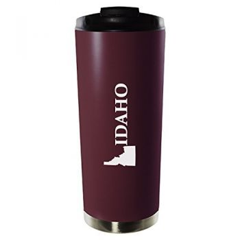 16 oz Vacuum Insulated Tumbler with Lid - Idaho State Outline - Idaho State Outline