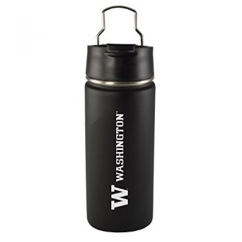 University of Washington-20 oz. Travel Tumbler-Black