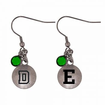 Eastern Michigan University-Frankie Tyler Charmed Earrings