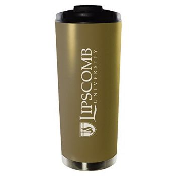 Lipscomb University-16oz. Stainless Steel Vacuum Insulated Travel Mug Tumbler-Gold