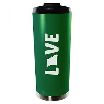 16 oz Vacuum Insulated Tumbler with Lid - Missouri Love - Missouri Love