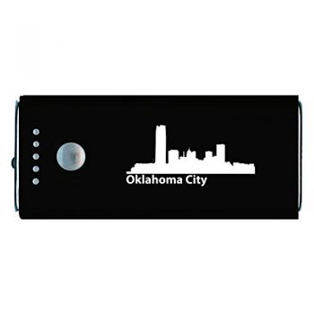 Oklahoma City, Oklahoma-Portable Cell Phone 5200 mAh Power Bank Charger-Black