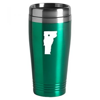 16 oz Stainless Steel Insulated Tumbler - I Heart Vermont - I Heart Vermont