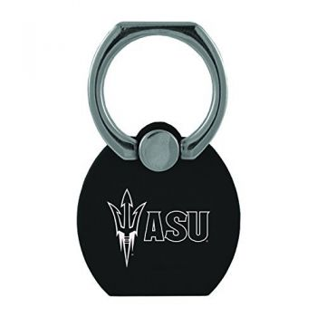 ASU Sun Devils|Multi-Functional Phone Stand Tech Ring|Black