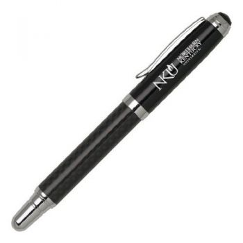 Northern Kentucky University - Carbon Fiber Rollerball Pen - Black
