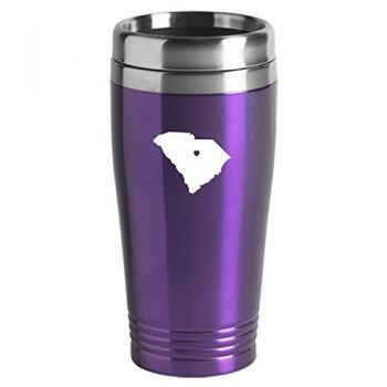 16 oz Stainless Steel Insulated Tumbler - I Heart South Carolina - I Heart South Carolina