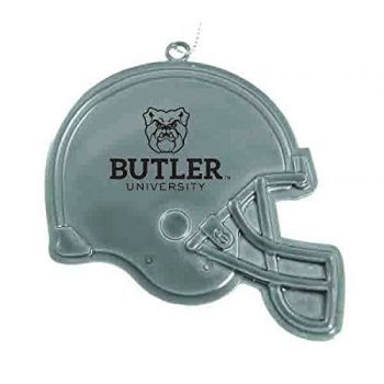 Butler University - Christmas Holiday Football Helmet Ornament - Silver