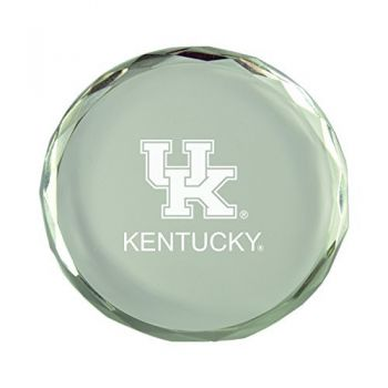 University of Kentucky-Crystal Paper Weight