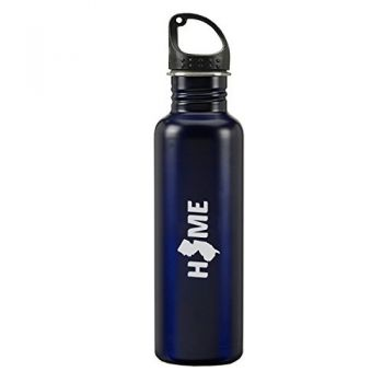 24 oz Reusable Water Bottle - New Jersey Home Themed - New Jersey Home Themed