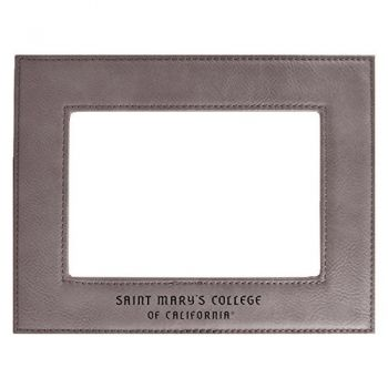 Saint Mary's College of California-Velour Picture Frame 4x6-Grey