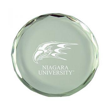 Niagara University-Crystal Paper Weight