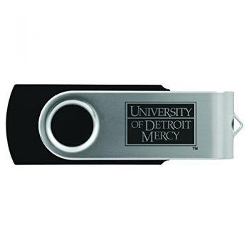 University of Detroit Mercy-8GB 2.0 USB Flash Drive-Black