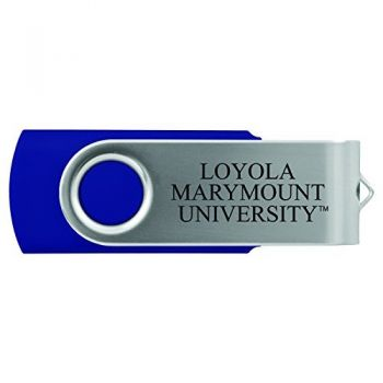 Loyola Marymount University -8GB 2.0 USB Flash Drive-Blue