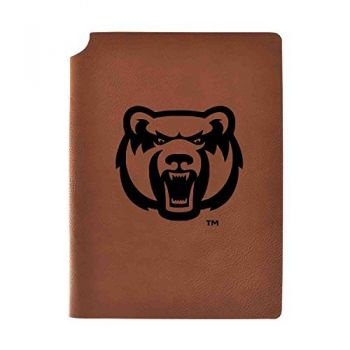 University of Central Arkansas Velour Journal with Pen Holder|Carbon Etched|Officially Licensed Collegiate Journal|