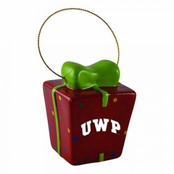 University of Wisconsin-Platteville-3D Ceramic Gift Box Ornament