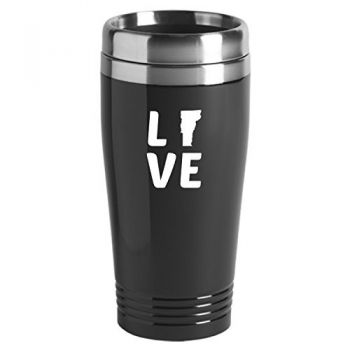 16 oz Stainless Steel Insulated Tumbler - Vermont Love - Vermont Love
