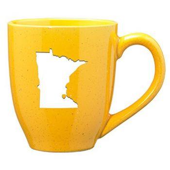 16 oz Ceramic Coffee Mug with Handle - I Heart Minnesota - I Heart Minnesota