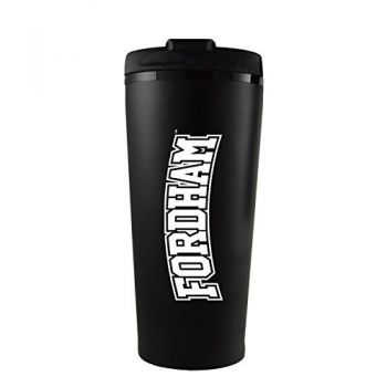 Fordham University-16 oz. Travel Mug Tumbler-Black