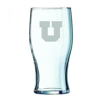 University of Utah-Irish Pub Glass