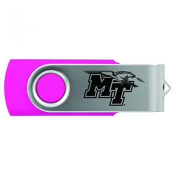 Middle Tennessee State University -8GB 2.0 USB Flash Drive-Pink