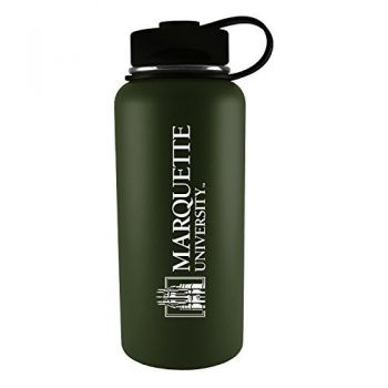 Marquette University-32 oz. Travel Tumbler-Gun Metal