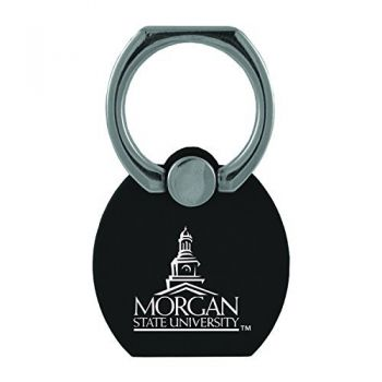 Morgan State University|Multi-Functional Phone Stand Tech Ring|Black