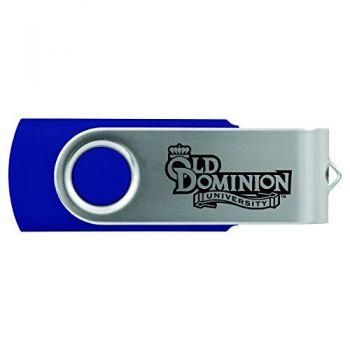 Old Dominion University -8GB 2.0 USB Flash Drive-Blue