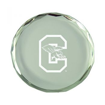 Canisus College-Crystal Paper Weight