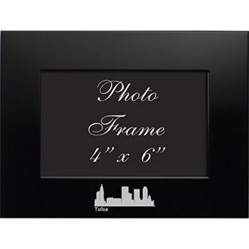 4 x 6  Metal Picture Frame - Tulsa City Skyline