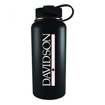 Davidson College-32 oz. Travel Tumbler-Black
